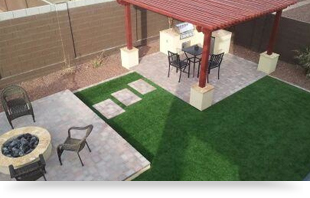 Nice Az Backyard Design